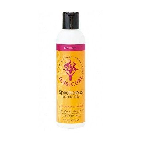 Spiralicious Styling Gel, en stylingprodukt för dig med lockigt hår som ger stadga och frisskontroll åt dina lockar hela dagen! Passar alla hårtyper.