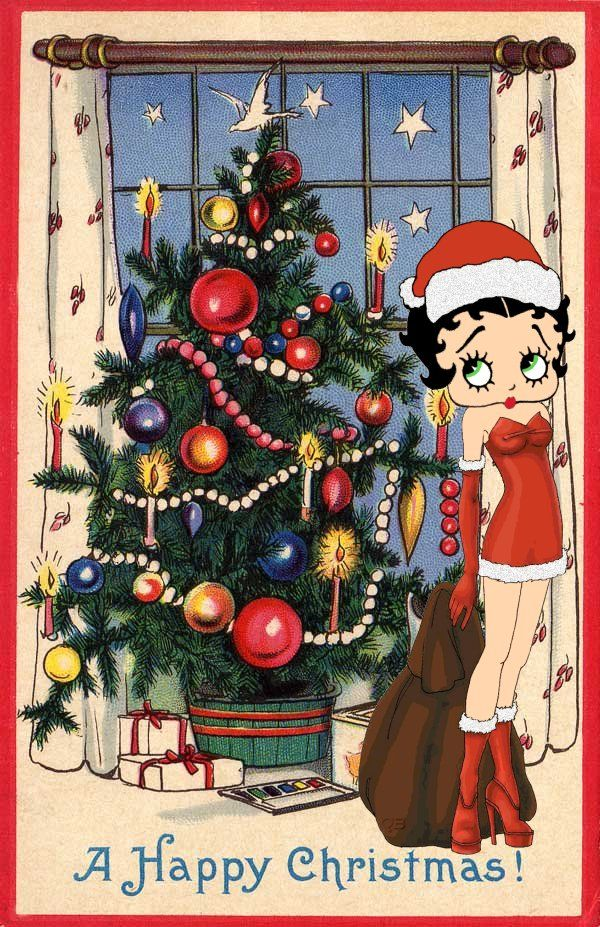 betty boop christmas | Click here for More Christmas Ecards