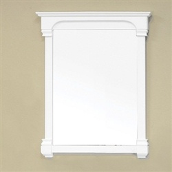 36 Solid White Wood Frame Mirror FREE Shipping 23800