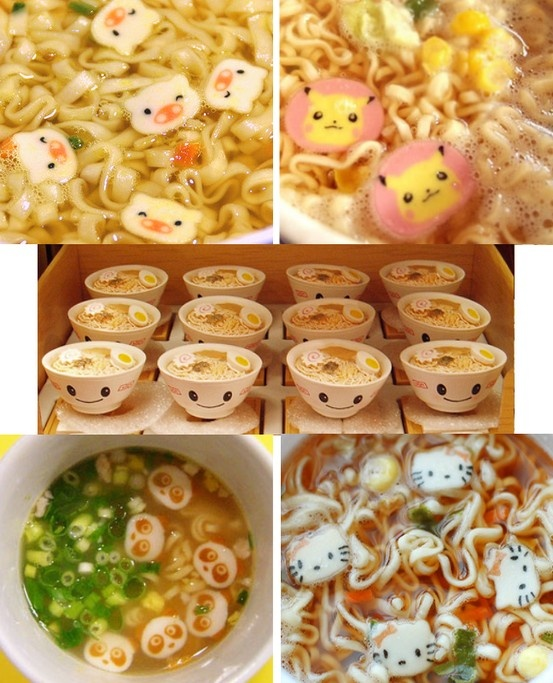 I'd have a heart attack before eating this. Too cute!