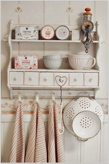 Shabby in love: Romantic Shabby Kitchen