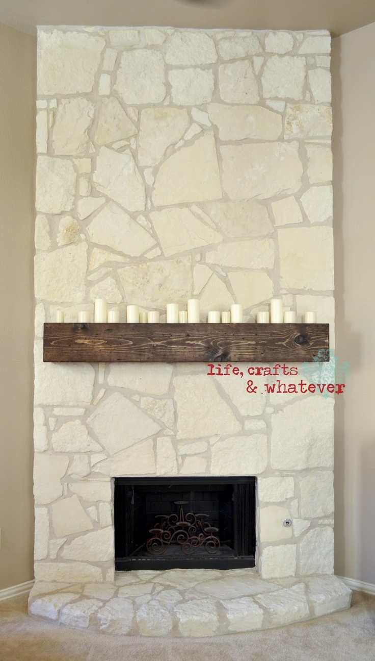 best 25 distressed mantle ideas on pinterest stone fireplace