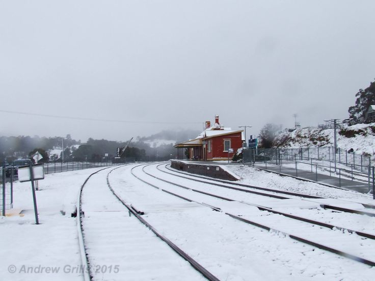 Snow at Walcha Road on the Great Northern Railway on 13th July 2015. Photo by Andrew Grills from:  https://www.facebook.com
