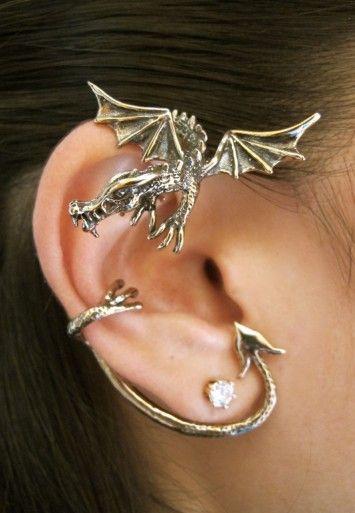 Guardian Dragon Ear Wrap Bronze