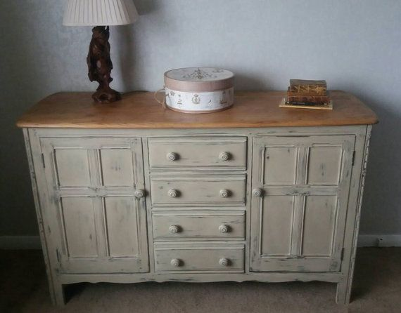 ercol sideboard beautifully upcycled in shabby chic style collection only or plus postage