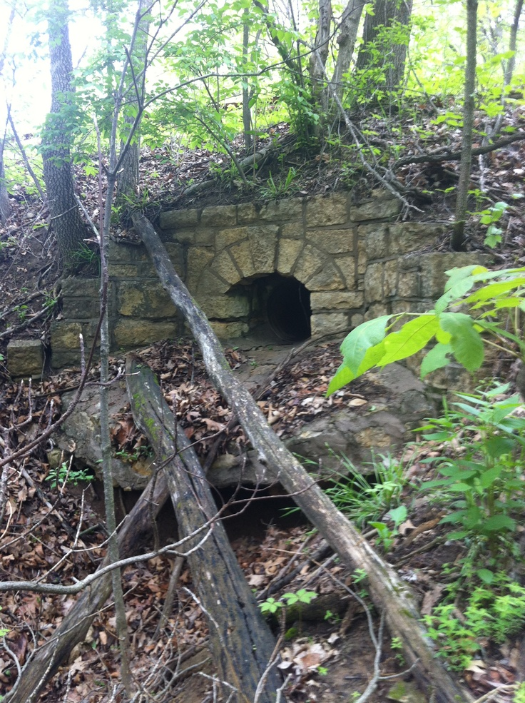 aquaduct built in the 30s as a WPA project