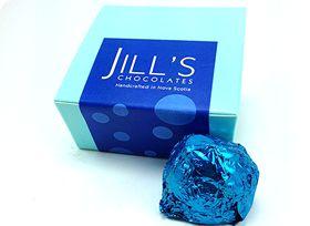 4 Piece NS Edition chocolates by Jill's Chocolates