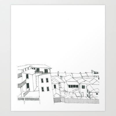 city+Art+Print+by+Daggy+Jess+-+$15.00