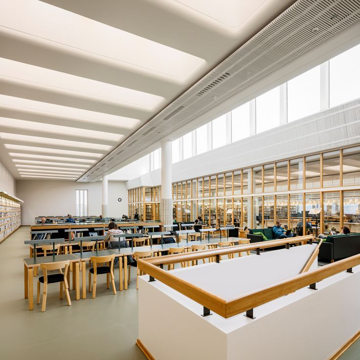 Renovation of Alvar Aalto library wins Finlandia Prize for Architecture 2017