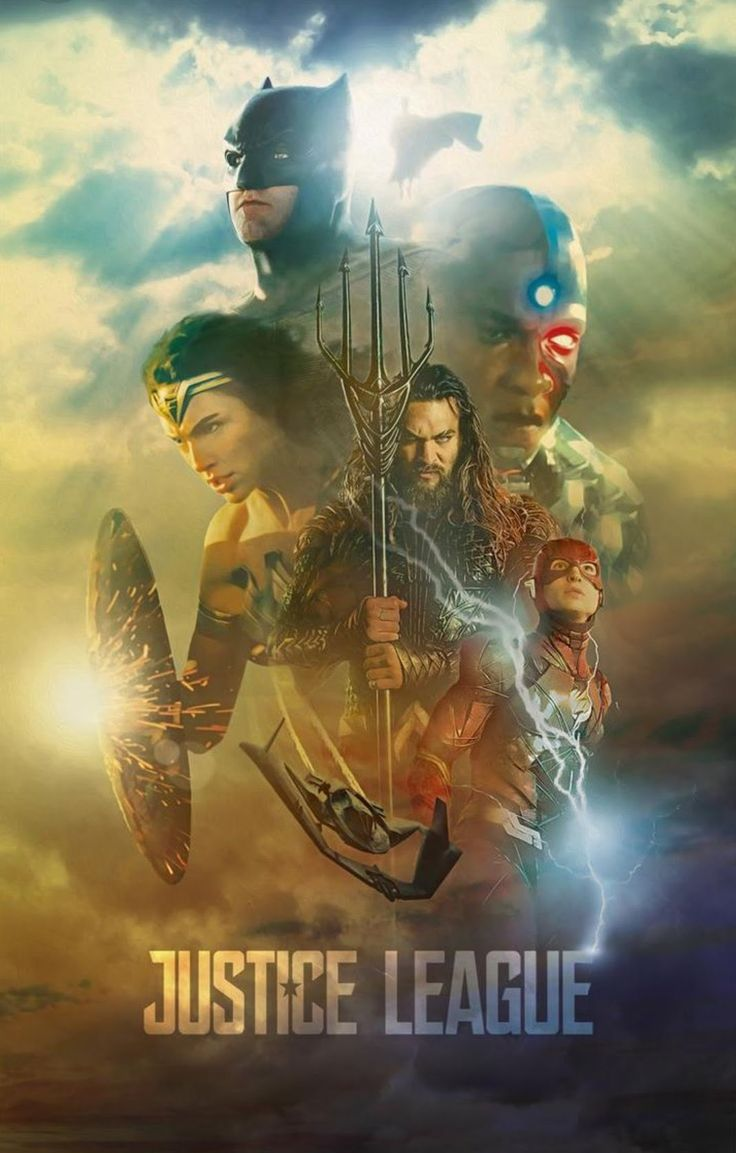 Justice League Movie Poster 2017 Featuring Wonder Woman, Aquaman, Batman, Cyborg and The Flash, Check Out 19 Justice League Easter Eggs and Missed Details - DigitalEntertainmentReview.com