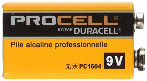 DURACELL 9 Volt  PROCELL Professional Alkaline Battery, Pack of 12  http://www.handtoolskit.com/duracell-9-volt-procell-professional-alkaline-battery-pack-of-12-2/