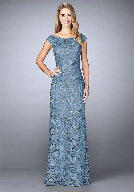 726a2b0f3b7 La Femme Evening 24860 Blue Mother Of The Bride Dress