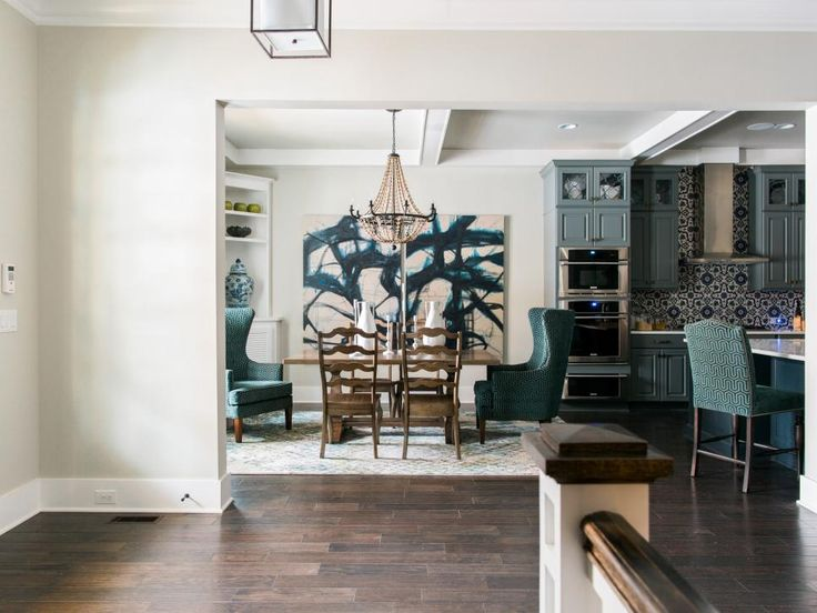 17 best images about hgtv smart home on pinterest for Dining room entrance designs