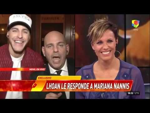 """Terrible susto de Lhoan, el novio de Charlotte, en una entrevista con """"I..."""