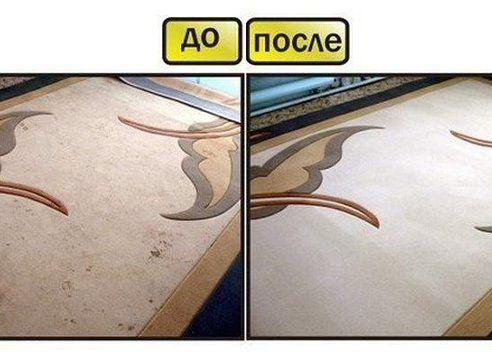 Чтобы сократить траты на средства для мытья ковров, которые нам предлагают купить в магазинах, давайте сделаем средство для мытья ковров сами. Это средство будет в разы дешевле, без бесконечного списка химии с составе и самое главное - оно будет чистить.   Итак, нам понадобится пустая тара среднего размера с распылителем, в которую мы добавим:   - 1 столовую ложку соды;  - 1/3 стакана уксуса;  - горячую воду, не кипяток (не доходя около 5 см до края тары);  - 1 столовую ложку стирального…