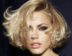 Вечерняя укладка на короткие волосы | Стрижки и Прически