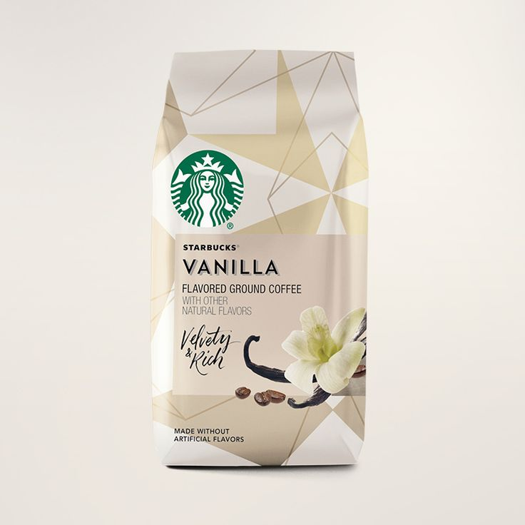Starbucks® Vanilla Flavored Coffee - Ground Bag