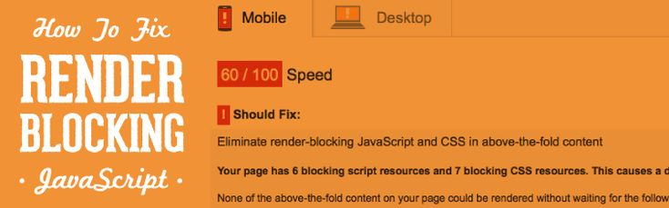 How To Fix Render-Blocking JavaScript In Google PageSpeed with W3 Total Cache [Web Design Tips]   Exclusive Bonus: Download the step-by-step checklist that will show you the 12 best methods to speed up your WordPress website (hint: you can set most of them up in under 1 hour).  Skip To Section: Intro | Speed Test Sites | What Im Using | Current Scores |What JS Cant Be Deferred | Step-By-Step in W3 | Results  Lets face it: Beautiful looking fully-featured WordPress themes can really slow your…