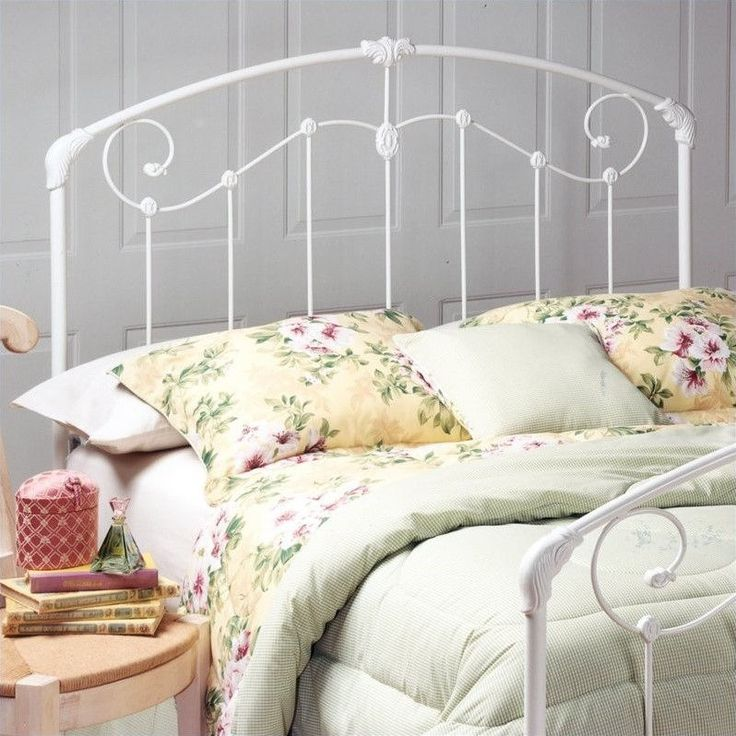 Lowest price online on all Hillsdale Maddie Spindle Headboard in White  - 325-XX