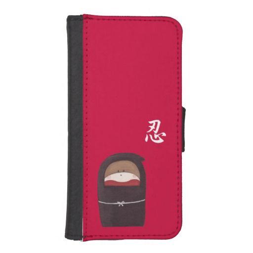 Sock Monkey Ninja iPhone 5/5s Wallet Case