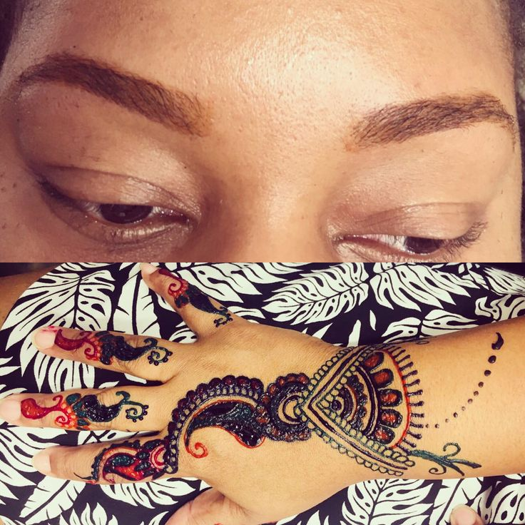 Brows and Henna by Karma Eyebrow Threading and Henna in