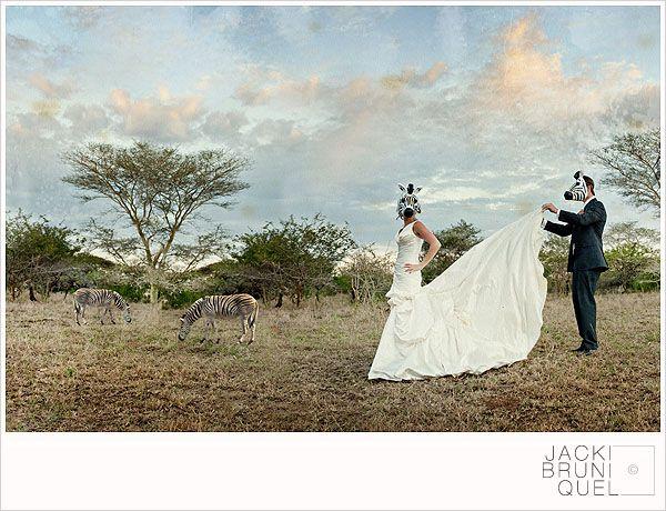 An Incredible Safari wedding at Zulu Nyaka w/ Zebra Masks - Meg & Pete - fashion world and fashion show | fashion world and fashion show