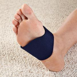 Get relief from plantar fasciitis pain by giving your arch a lift with this Gel Arch Wrap. Buy 2 & Save!