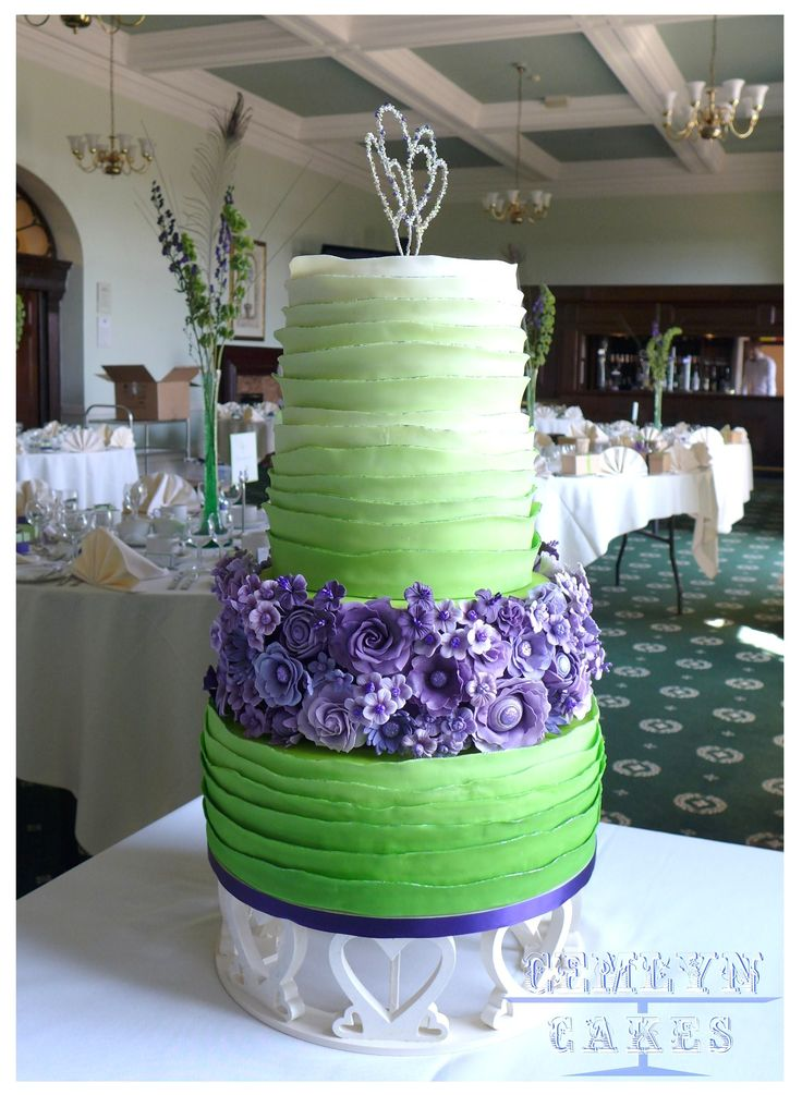 purple and lime green wedding cakes 25 best ideas about lime green weddings on 18862