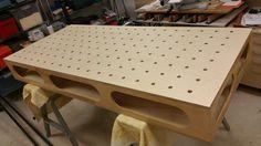 Modified Paulk MFT Workbench and Miter Saw Stand