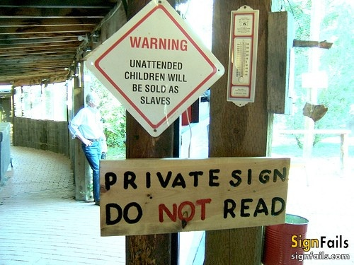 Best Sign Fails Images On Pinterest Funny Signs Fails And - Car signs on dashboardfunny warning signs funny pinterest signs funny warning