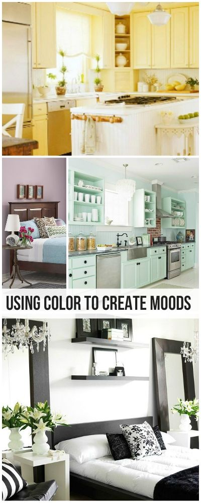 home decorating using color to create moods - Home Decor Color Palettes