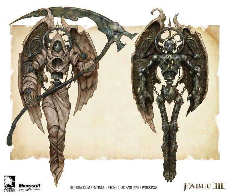 ArtStation - Sentinels, Fable 3, Mike McCarthy
