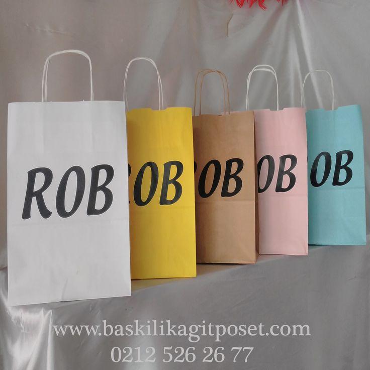 Renkli Kağıt Poşetler   Beka Kağıtçılık  