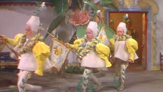 The Wizard of Oz 1939. After it is established in Munchkin Town that the Wicked Witch of the East is dead, the people of Munchkin Town celebrate