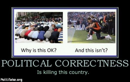 I hate political correctness and, indeed, believe it's gone mad and is destructive to all of us! - http://www.brucesallan.com/2012/09/17/political-correctness-gone-mad/
