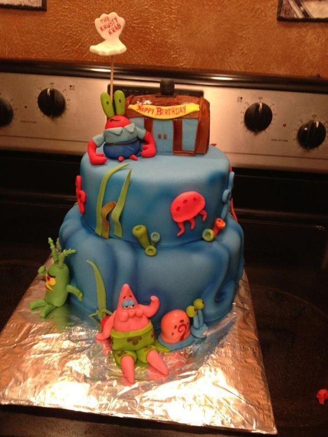 46 best Spongebob Birthday Party images on Pinterest Spongebob