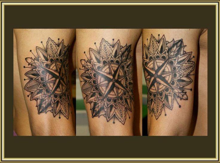 des vents graphique: Alan Puech, Tattoo Inspiration, Tatouage Rose Des ...