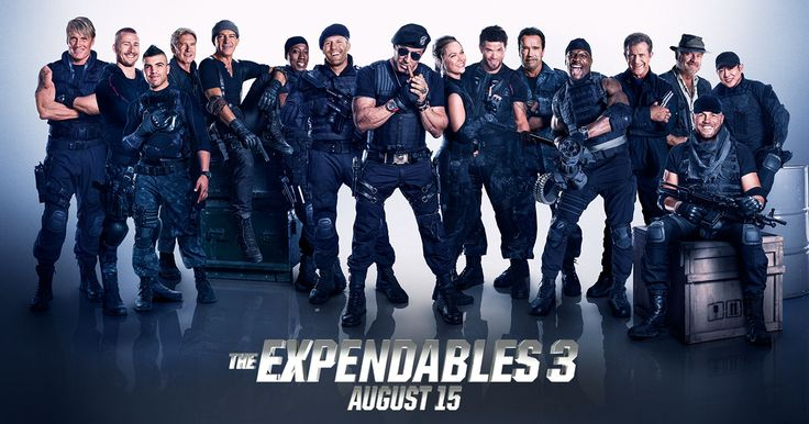 Watch and share the all-new motion poster for The Expendables 3 and GET FIRED UP! Blazing into theaters August 15th -  #EX3  http://www.TheExpendables3Film.com