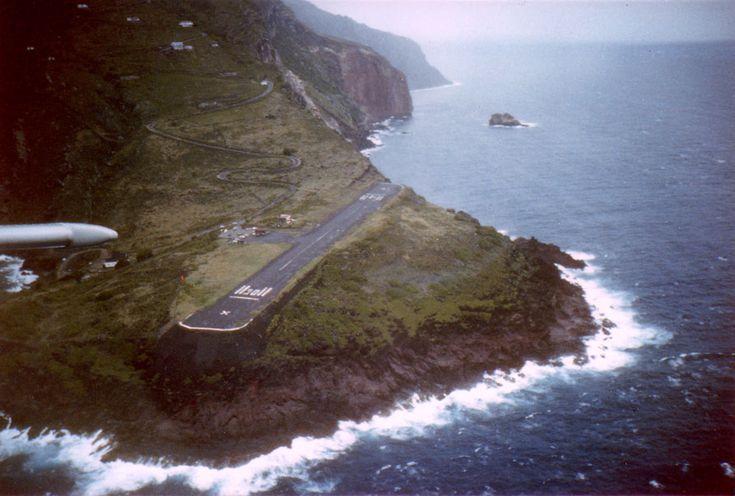Aeroporto Juancho E. Yrausquin - Saba, Antilhas.