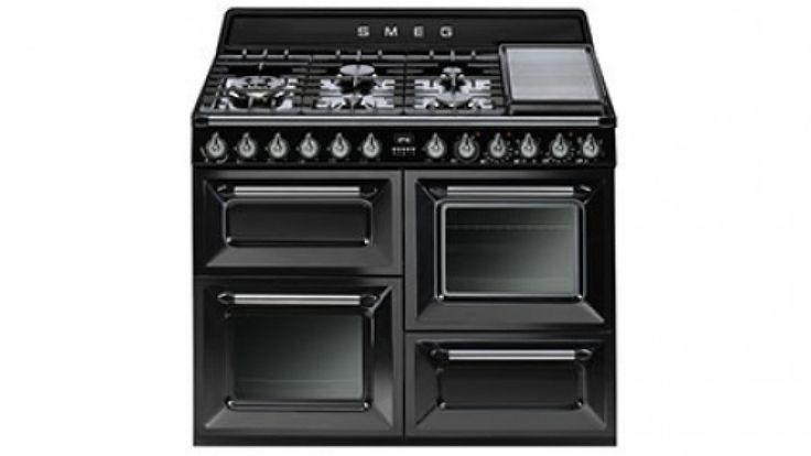 Smeg 110cm Freestanding Cooker - Black - Freestanding Cookers - Appliances - Kitchen Appliances | Harvey Norman Australia