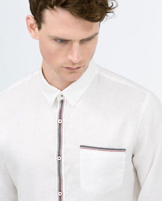 ZARA - NEW THIS WEEK - Linen shirt