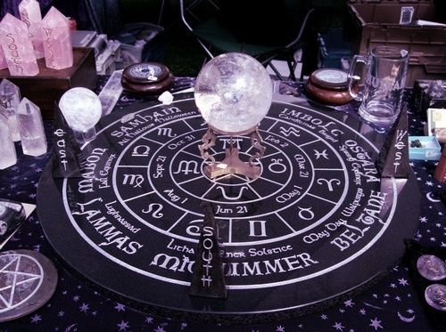 I've never used a crystal ball for scrying. Maybe I should start?
