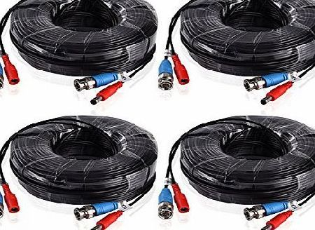 ANNKE  4 Pack Special Design 30M / 100 Feet BNC Video Power Cable For HD CCTV Camera DVR Security System ( No description (Barcode EAN = 0713651297780). http://www.comparestoreprices.co.uk/december-2016-week-1-b/annke-4-pack-special-design-30m--100-feet-bnc-video-power-cable-for-hd-cctv-camera-dvr-security-system-.asp