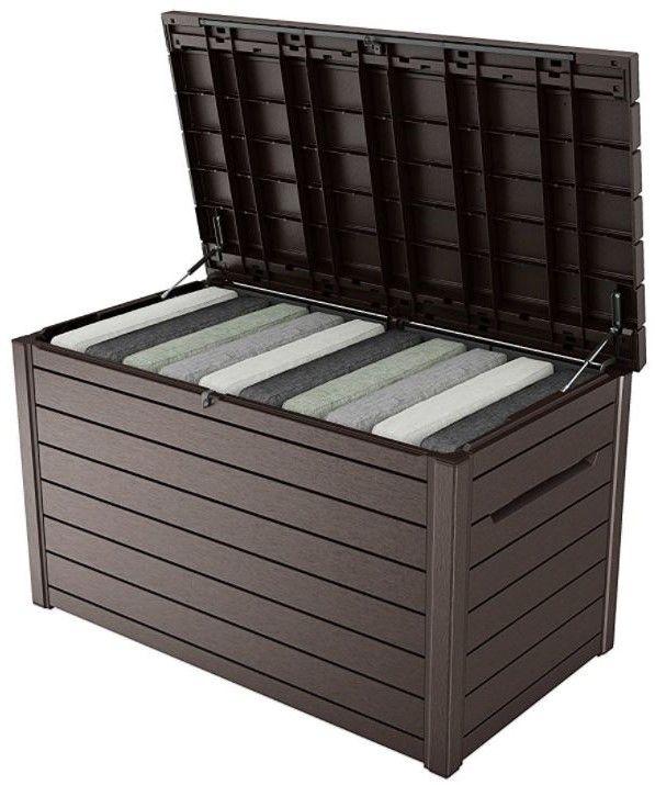 deck box storage patio cushion storage