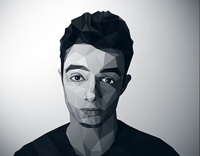 """Check out new work on my @Behance portfolio: """"Facets - Low Poly Face"""" http://be.net/gallery/35140321/Facets-Low-Poly-Face"""
