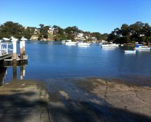 Oatley Bay Boat Ramp, (although technically in Hurstville Grove) is located at the Southern end of Moore Reserve. There's plenty of parking, a playground, picnic & toilet facilities nearby. #boat #oatley #mcgrathstgeorge