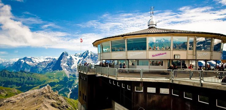 #Piz_Gloria_Restaurant, at #Schilthorn in #Bern - #Switzerland http://directrooms.com/switzerland/hotels/bern-hotels/price1.htm