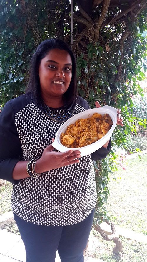 Viveshni Joseph from www.madamemacaronsa.com