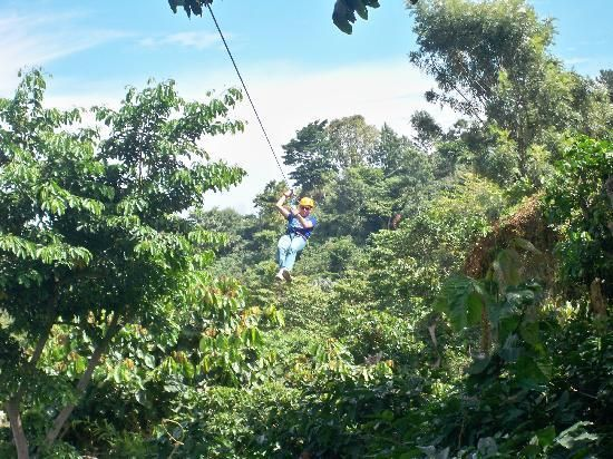 Canopy Tour. Apaneca, El Salvador.  One of the coolest things I have ever done in my life!