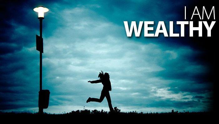 I am wealthy! :: #affirmations #lawofattraction